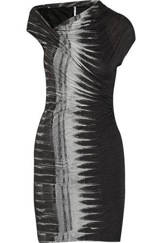Helmut Lang Frequency Asymmetric Modal-Jersey Dress