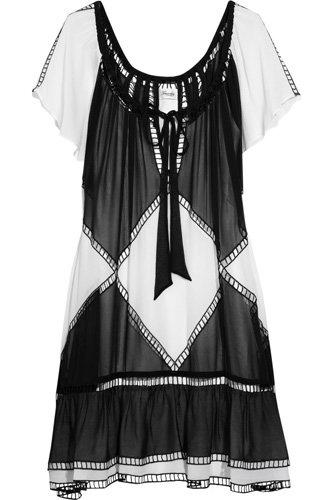 Temperley London Water Silk Mini Dress