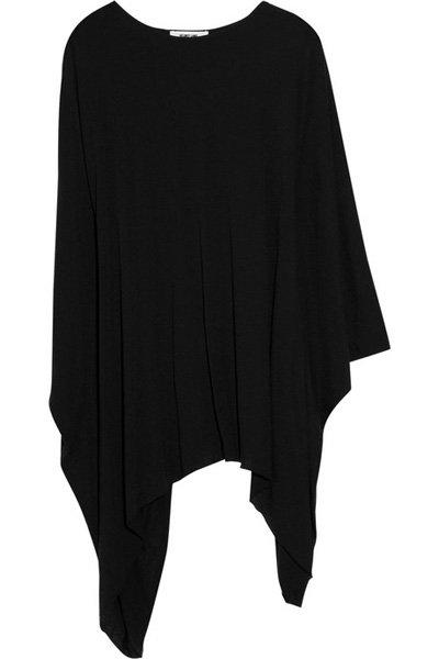 Helmut Lang Oversized Jersey Asymmetric Top