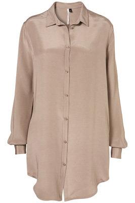 Topshop Silk Shirt Dress by Boutique