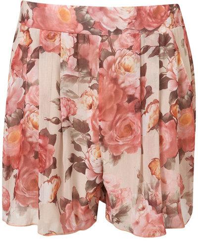 Love Teri Print Shorts