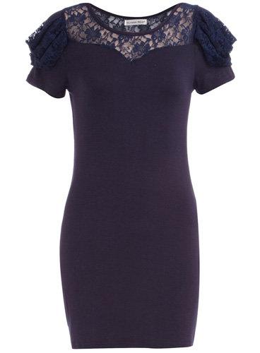 Dorothy Perkins Navy Lace Dress
