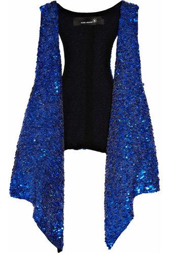 Isabel Marant Reeves Sequined Silk Vest