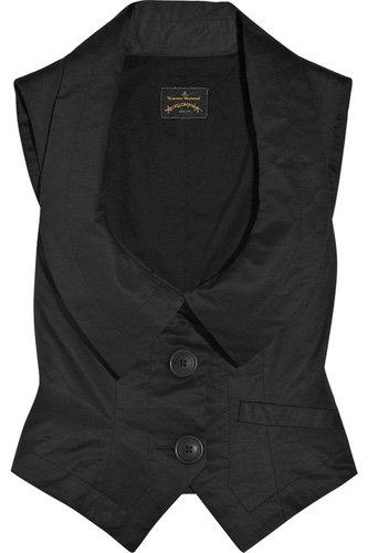 Vivienne Westwood Anglomania Dryad Stretch-Cotton Vest