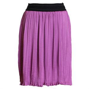Beat of My Heart Purple Pleated Skirt