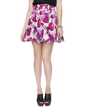 Lush Blotted Skirt