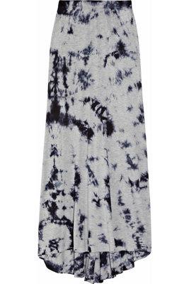 Tie-Dye Jersey Maxi Skirt