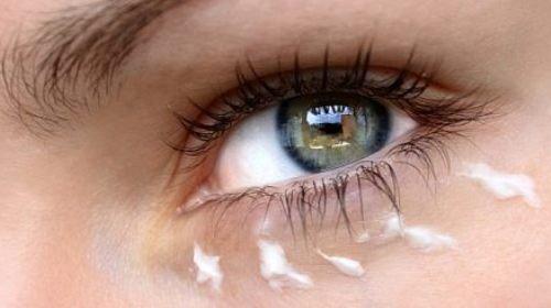Eye Cream Served Chilled
