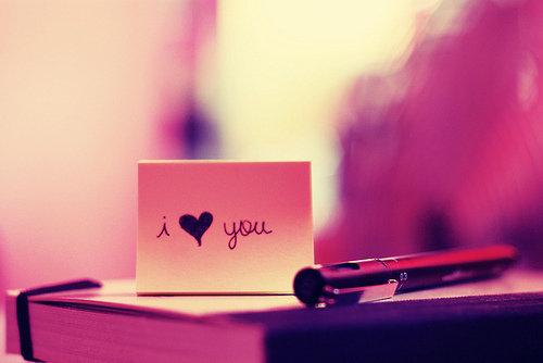 """I Love You."""