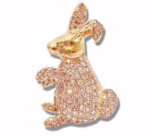 Pink Diamond Pendant