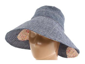 San Diego Hat Company Denim Floppy Hat