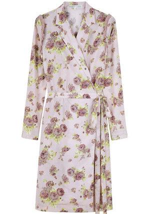 Rodarte for O.C. Floral Wrap Dress