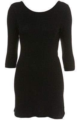 Topshop Short Jersey Scoop Back Dress