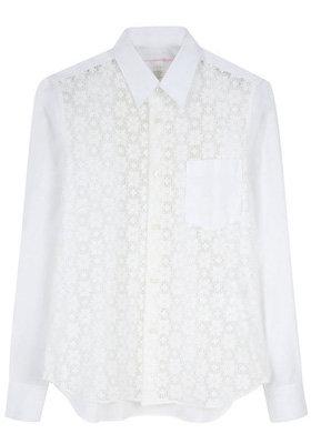 Comme Des Garçons Shirt Lace Shirt