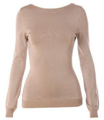 Chloé Scoop Back Stretch Sweater