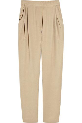 3.1 Phillip Lim Silk-Crepe Harem Pants