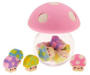 'Mushroom Kingdom' Eraser Pot