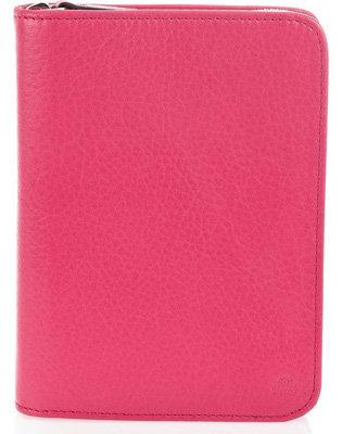 Mulberry Tudor Zip around Leather Notebook