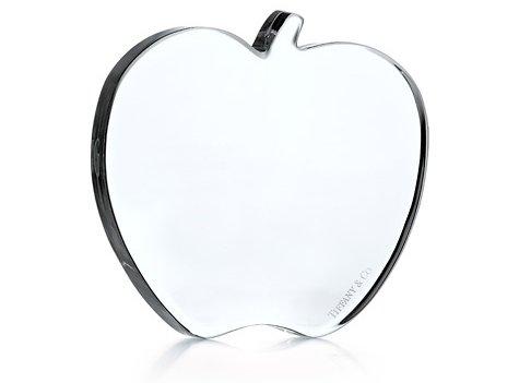 Tiffany Apple Flat Paperweight