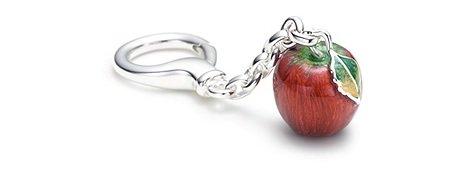 Tiffany Apple Key Ring