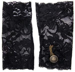 ASOS Chain Detail Lace Cuff