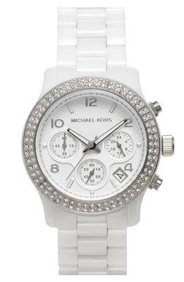 Michael Kors 'Runway Ceramic' Watch