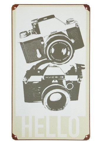 Cameras on a Hot Tin Sign