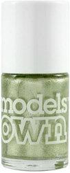 Models Own Shimmer Metallic Nail Polish in 'Green Flash'