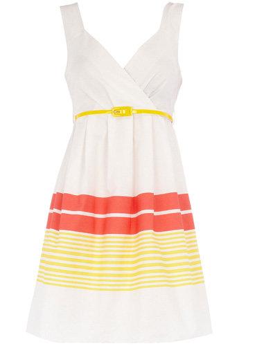 Dorothy Perkins Yellow Stripe Sundress