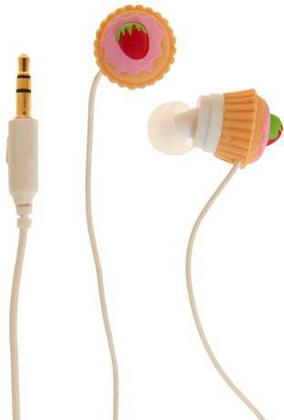 Strawberry Cupcake Ear Buds