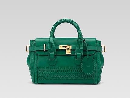 'Handmade' Medium Top Handle Bag