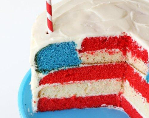 Flag Cake 2
