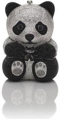 Judith Leiber Panda Bear Minaudière