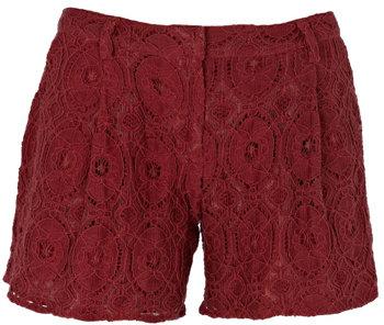 Warehouse Lace Shorts