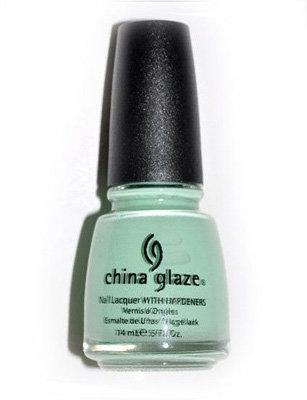 China Glaze up & Away Re-Fresh Mint Nail Lacquer