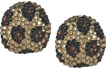 Kenneth Jay Lane Swarovski Crystal Earrings