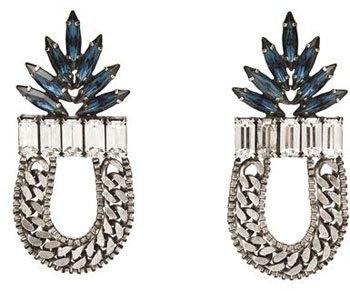 Dannijo Stone Dangle Earrings