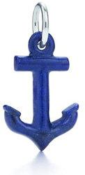 Tiffany Anchor Charm and Chain
