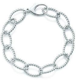 Tiffany Twist Link Bracelet