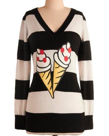 Ice Cream Social Sweater