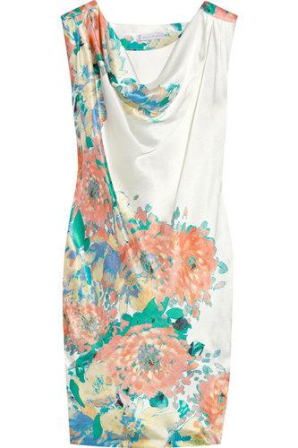 Paul & Joe Sister Lola Printed Silk-Satin Dress