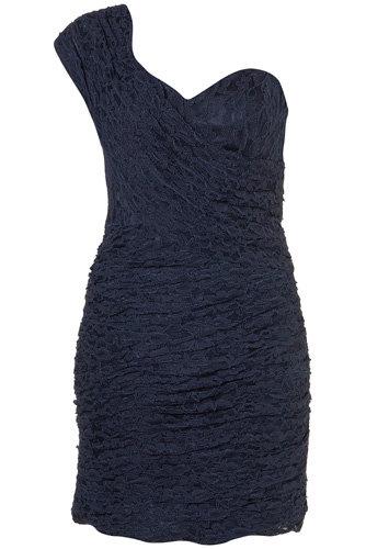 Rare Opulence Ruched Sash Dress