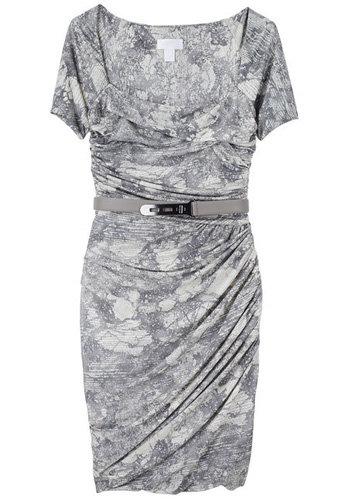 Doo.Ri Ruched Printed Dress