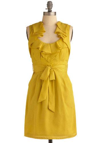 Lemon Sour Dress