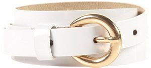 Topshop Skinny White Patent Belt