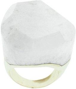 Lola Rose Ivory Jasper Irregular Ring