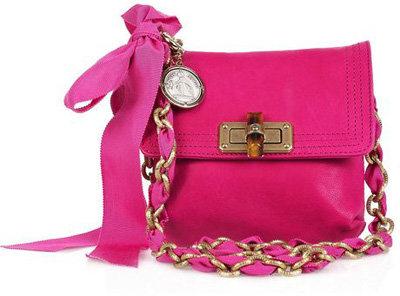 Lanvin Mini Pop Leather Shoulder Bag