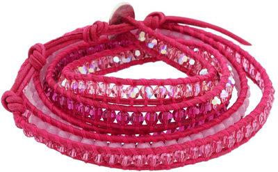 Chan Luu Crystal Mix Wrap Bracelet