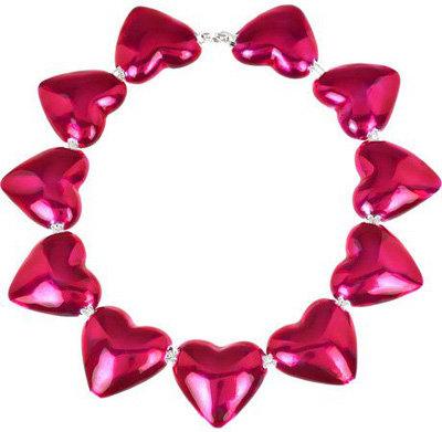 Aurelie Bidermann Pop Silver-Gilded Heart Necklace