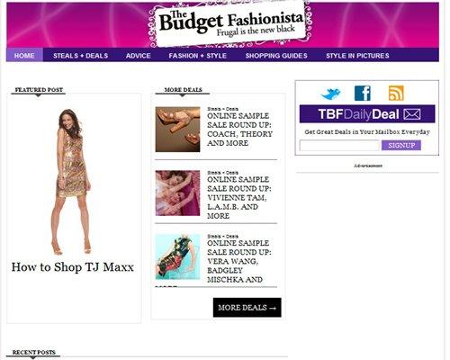 the Budget Fashionista